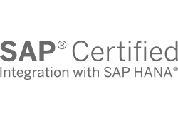 Certified for SAP HANA